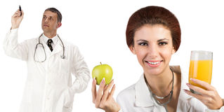 Healthy fruits diet Stock Photos