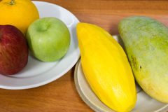 Healthy fruits Stock Images