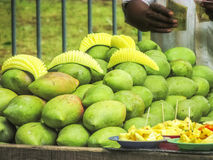 Healthy Fruits selling in the South India in the Hot Summer. Healthy Fruits selling in the South India.Mango in the month of May, the Hot Summer Stock Images