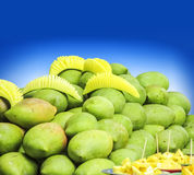 Healthy Fruits selling in the South India in the Hot Summer. Healthy Fruits selling in the South India.Mango in the month of May, the Hot Summer Stock Image
