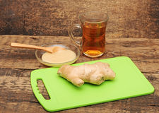 Healthy ginger tea Royalty Free Stock Photo