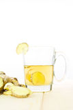 Healthy ginger tea Royalty Free Stock Images