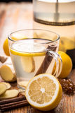 Healthy ginger tea Stock Image