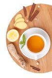 Healthy ginger tea Stock Photo