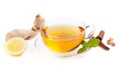 Healthy ginger tea Stock Photos