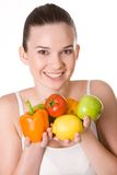 Healthy girl Stock Photography