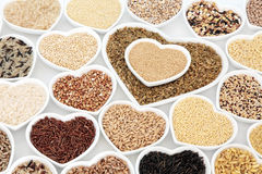 Healthy Grain Food Selection Royalty Free Stock Photography