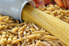 Healthy Grain Pasta Royalty Free Stock Photos
