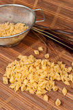 Healthy Grain Shell Pasta Stock Image