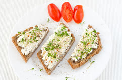 Healthy granary bread Royalty Free Stock Image