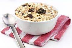 Healthy granola Stock Photo
