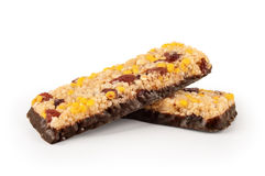 Healthy granola bar with cereals Stock Photo