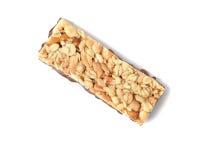 Healthy granola bar Royalty Free Stock Photos