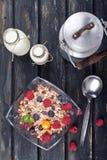 Healthy granola Royalty Free Stock Photo