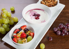 Healthy granola Royalty Free Stock Photography
