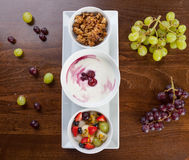 Healthy granola Stock Image