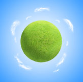 Healthy grass Planet stock photography