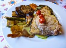 Healthy greek food Royalty Free Stock Image