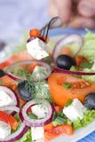 Healthy greek salad Royalty Free Stock Photo