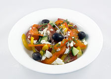 Healthy Greek Salad Stock Photos