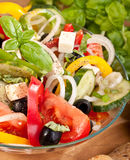 Healthy Greek Salad Bowl Stock Images