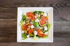 Healthy greek salad Stock Images