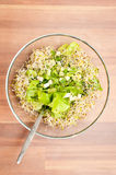 Healthy green dish Royalty Free Stock Image