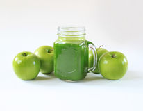 Healthy green juice Royalty Free Stock Photography
