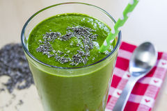 Healthy Green Juice Smoothie Drink stock photos