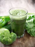 Healthy green juice Stock Images