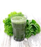 Healthy green juice Stock Photography