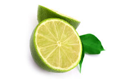 Healthy green lime Stock Images