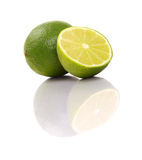 Healthy green lime fruit Royalty Free Stock Photography