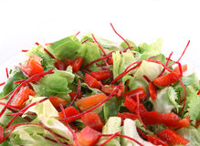 Healthy green salad Royalty Free Stock Images