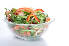 Healthy green salad Stock Photo