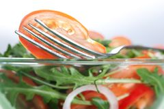Healthy green salad Royalty Free Stock Photography