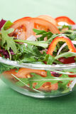 Healthy green salad Stock Images