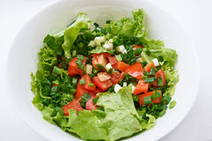 Healthy green salad Stock Photo