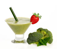 Healthy Green Smoothie. Clean Eating and Diet Concept Royalty Free Stock Photography