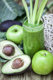 Healthy green smoothie. Stock Photography