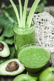 Healthy green smoothies. Stock Photography