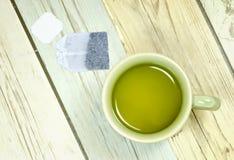 Healthy green tea Stock Photo