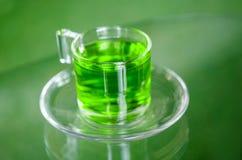 Healthy green tea. Royalty Free Stock Photo