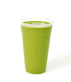Healthy green vegetable smoothie Royalty Free Stock Images