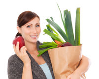 Healthy groceries royalty free stock photography