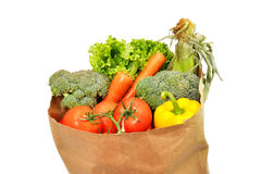 Healthy Groceries Royalty Free Stock Images