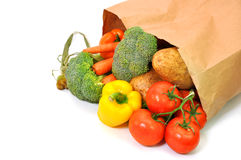 Healthy Groceries Royalty Free Stock Photos