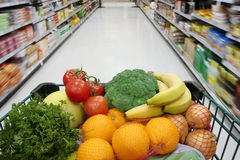 Healthy groceries stock photos