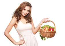 Healthy groceries. Royalty Free Stock Photography
