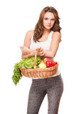 Healthy groceries. Royalty Free Stock Photos